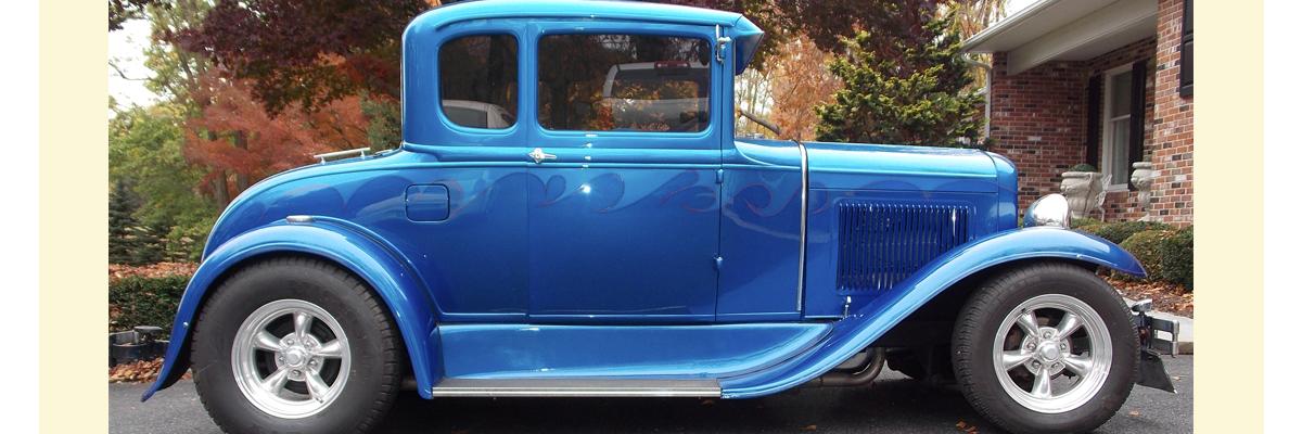 1930 Model A Ford 5 Window Coupe Street Rod Kurzmann