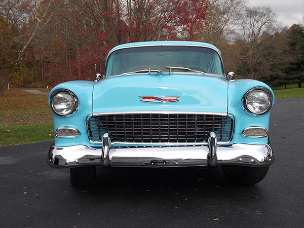 1955 Chevrolet Belair 4 Door Sedan Kurzmann Auto Brokerage