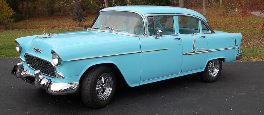 1955 Chevrolet Belair 4 Door Sedan Kurzmann Auto Brokerage