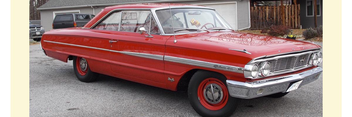 1964 Ford Galaxie R Code 427/425 – Kurzmann Auto Brokerage