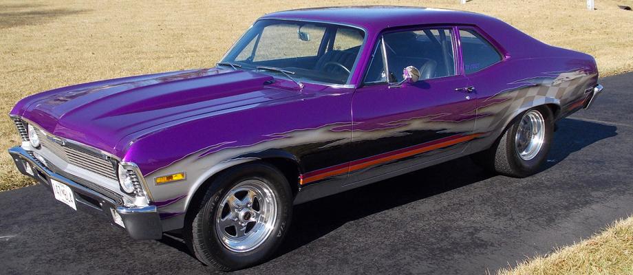 1972 Chevy Nova Pro Street Kurzmann Auto Brokerage
