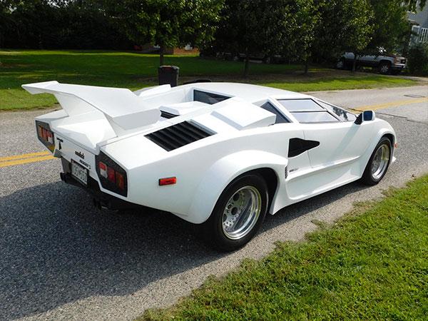 1986 Replica Lamborghini Countach 5000 S Kurzmann Auto Brokerage