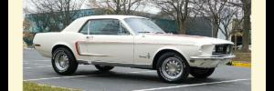 1968 Ford Mustang Hardtop Sprint Pkg 'B'
