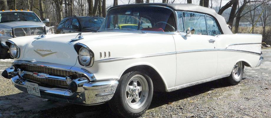 1957 Chevrolet Bel Air Kurzmann Auto Brokerage
