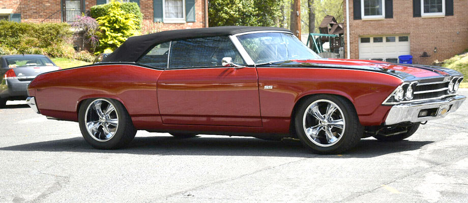 1969 Chevrolet Chevelle Convertible SS – Kurzmann Auto Brokerage