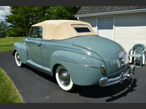1941 Ford Super Deluxe Convertible – Kurzmann Auto Brokerage