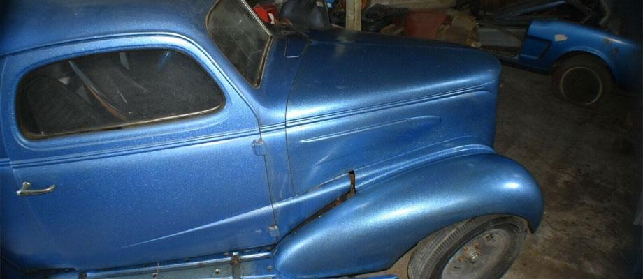 1937 Chevrolet Coupe GASSER – Kurzmann Auto Brokerage