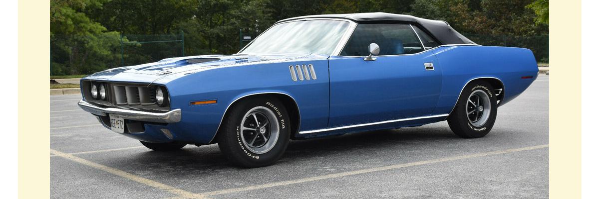 1971 Plymouth Barracuda Cuda Convertible Kurzmann Auto Brokerage