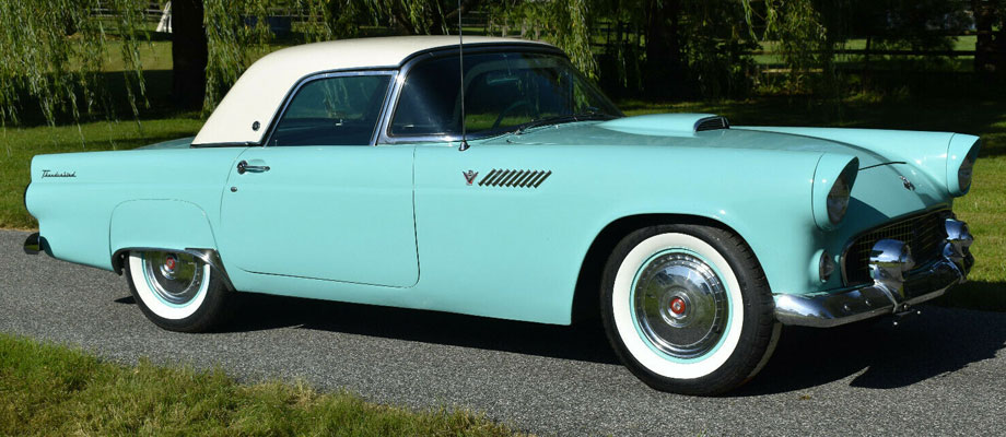 1955 Ford Thunderbird Clic Roadster – Kurzmann Auto Brokerage  Thunderbird Volt Wiring Harness on